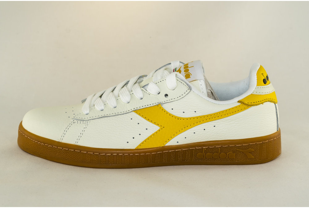 Diadora DIADORA GAME L LOW White/ Yellow Freesia