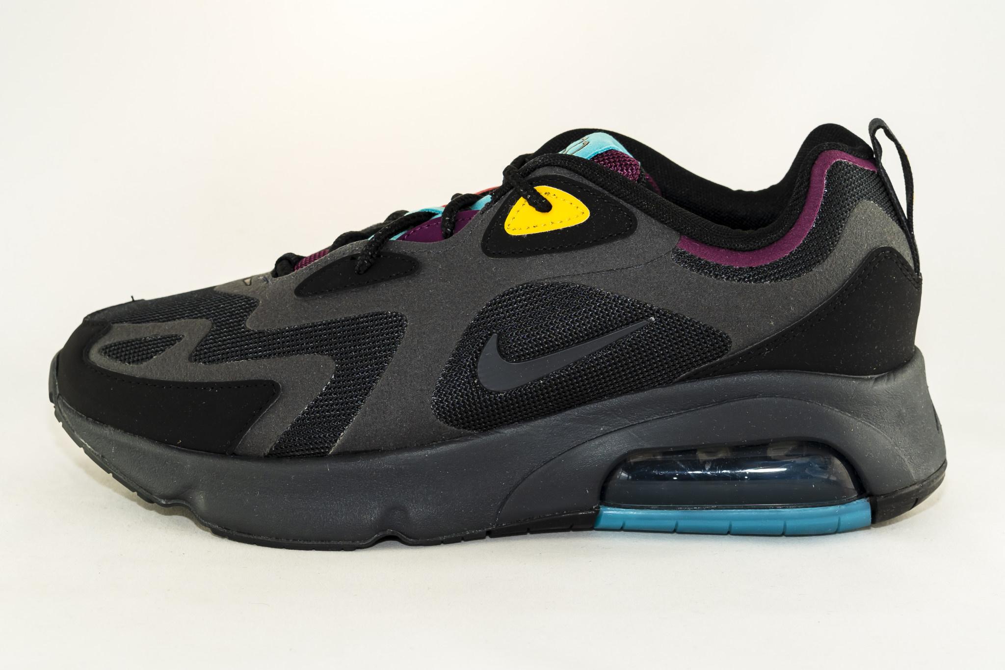 Nike  AIR MAX 200 Black/ Anthracite/ Bordeaux