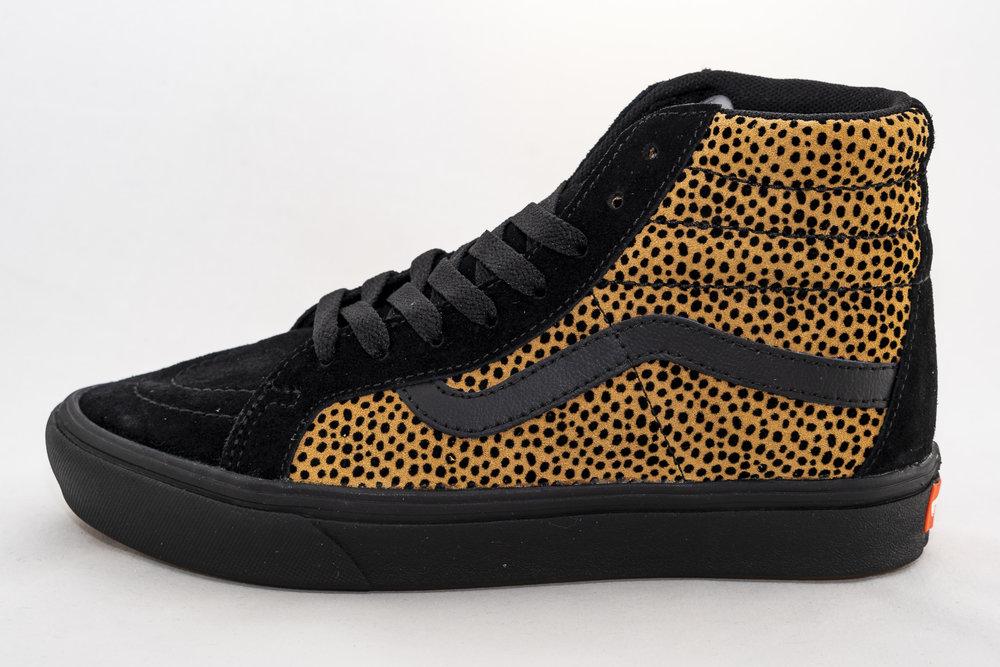 VANS VANS SK8-HI COMFYCUSH (Tiny Cheetah) Black