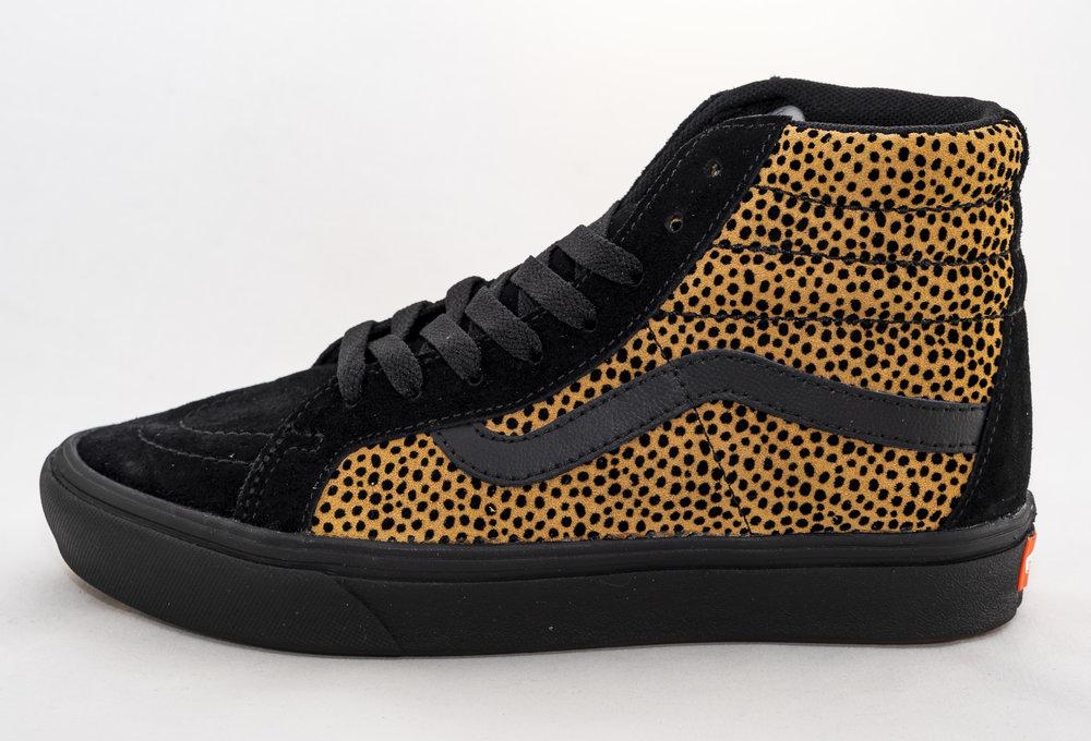 VANS SK8-HI COMFYCUSH (Tiny Cheetah) Black