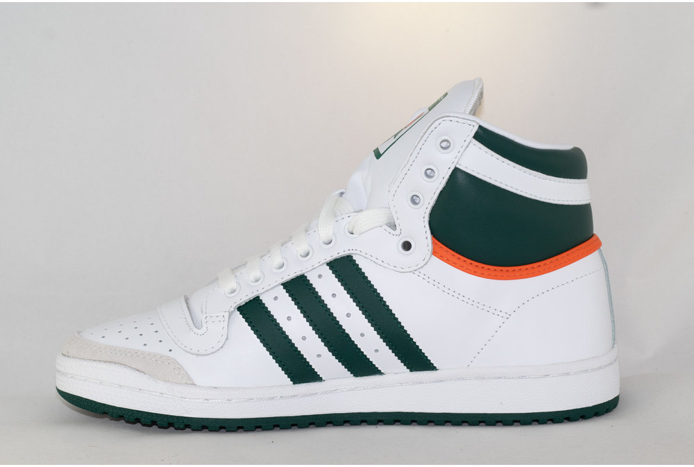 Adidas ADIDAS TOP TEN HI Ftwwht/ Cgreen/ Orange
