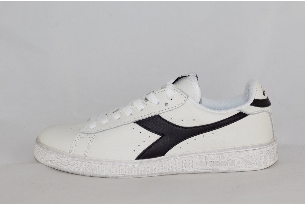 Diadora U DIADORA GAME L LOW WAXED White/ Black