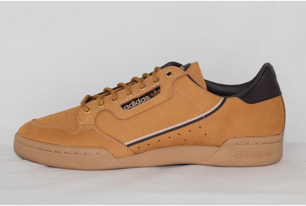 Adidas ADIDAS CONTINENTAL 80 Mesa/ Brown/ Eqtyel