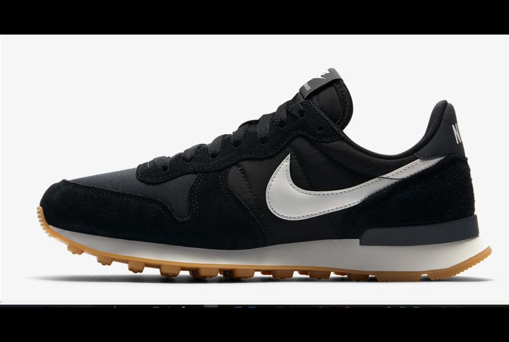 Nike W NIKE INTERNATIONALIST Black/Summit White-Anthracite