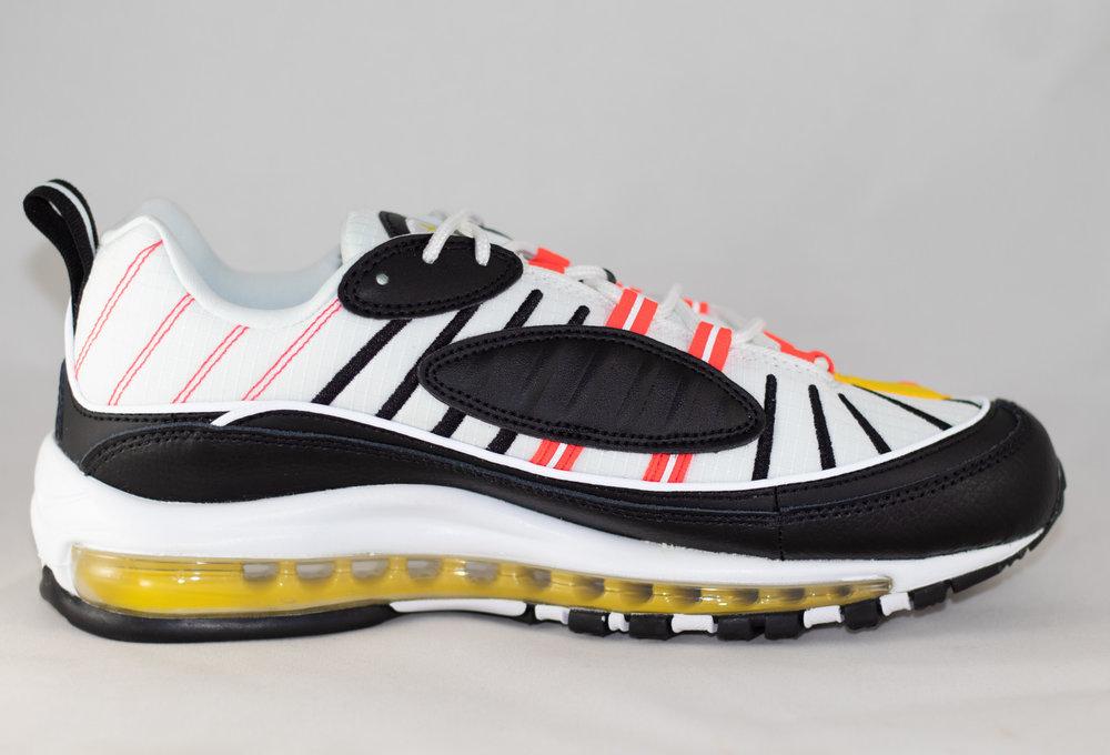 Nike NIKE AIR MAX 98 Black/ Bright Crimson- White