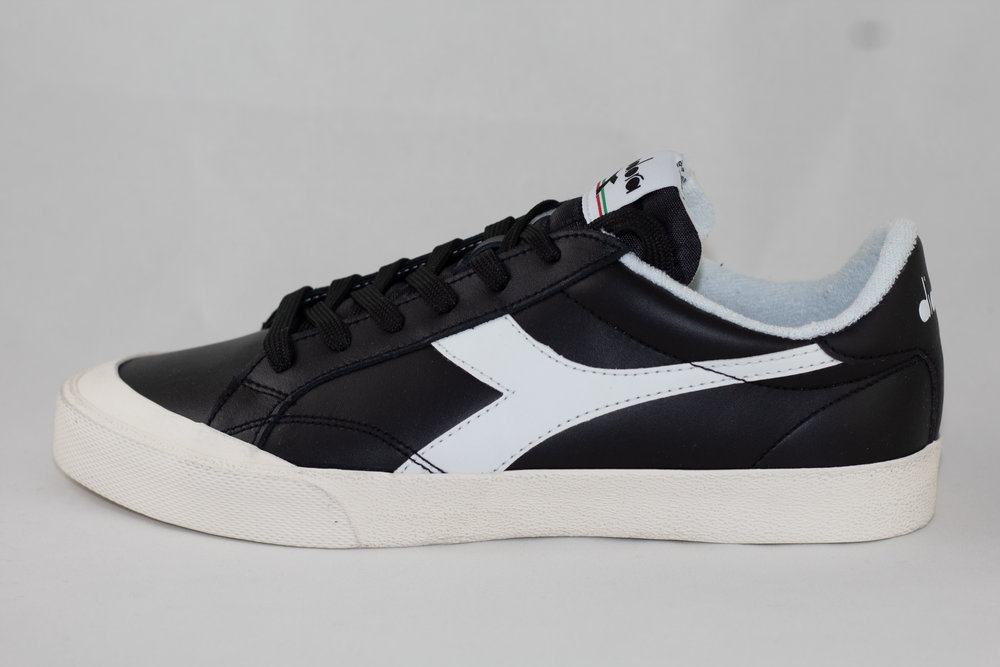 DIADORA DIADORA MELODY LEATHER DIRTY Black/ White