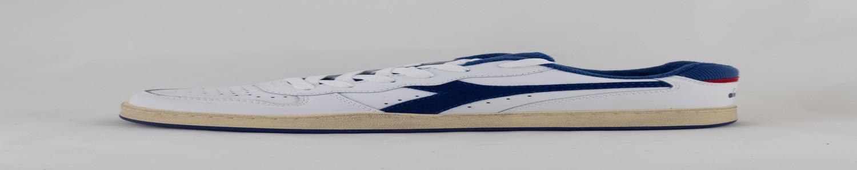 DIADORA DIADORA MI BASKET LOW USED White/ Bijou Blue