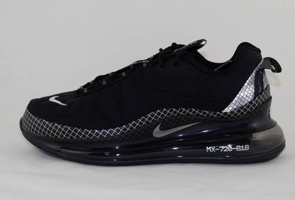 Nike MX-720-818 Black/ Metallic Silver-Black