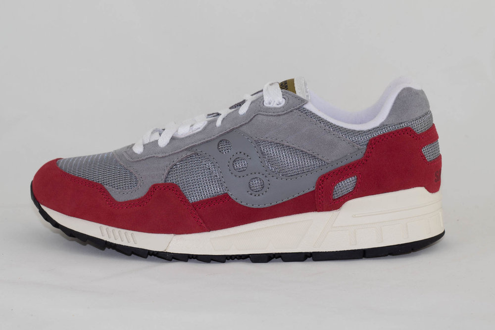 Saucony M SAUCONY SHADOW 5000 Grey/ Red