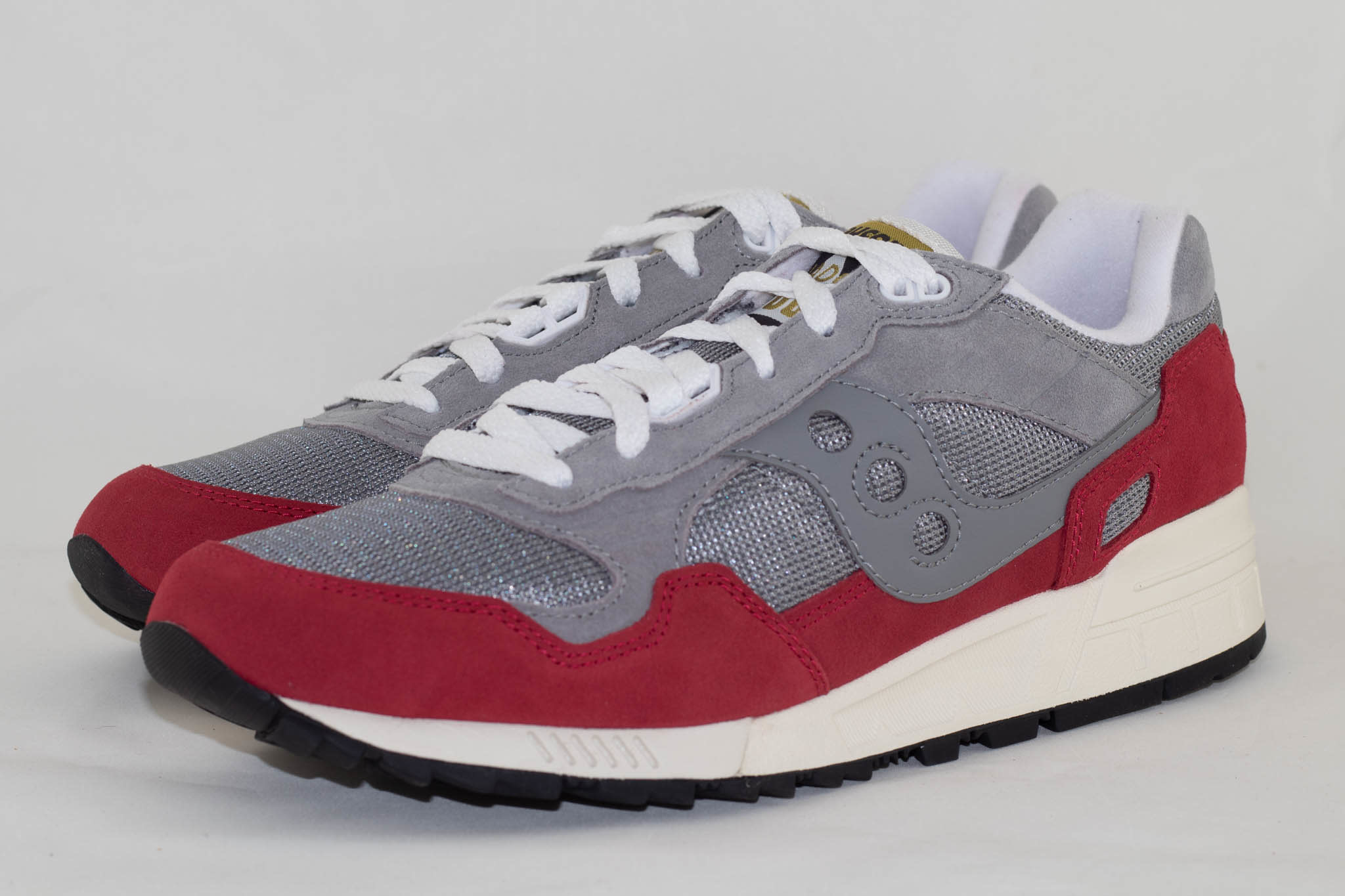 Saucony SHADOW 5000 Grey/ Red