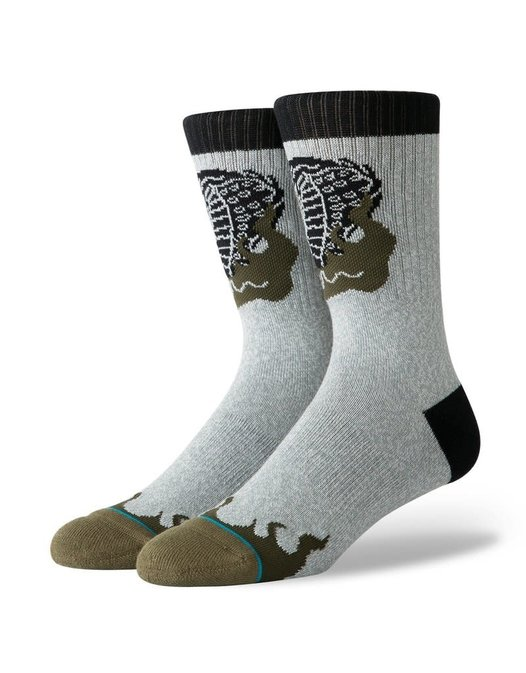 STANCE STANCE SNAKE VENOM Heather Grey Large