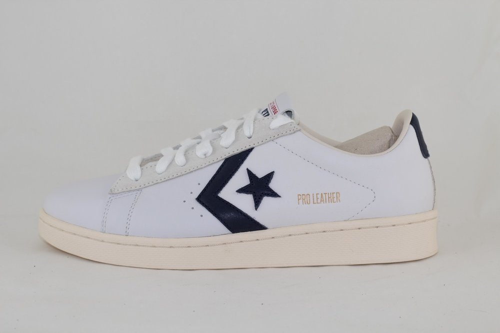 Converse CONVERSE PRO LEATHER OG - OX - White/Obsidian/Egret