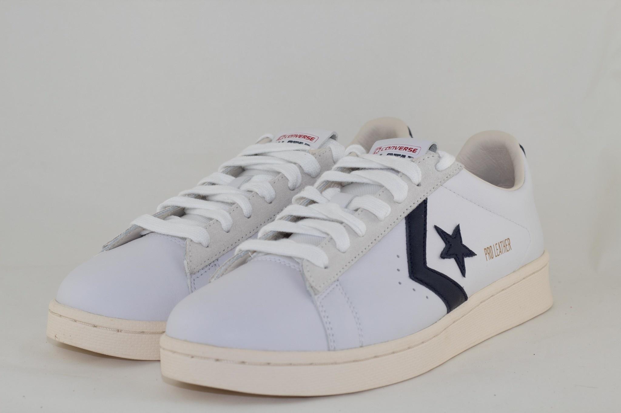 Converse PRO LEATHER OG - OX - White/Obsidian/Egret