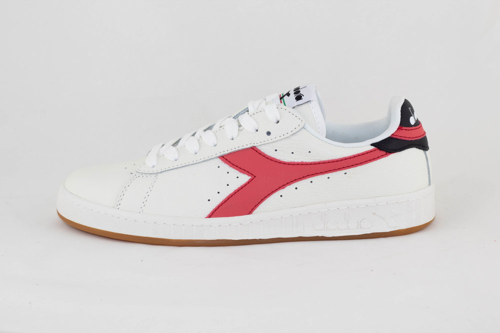DIADORA U DIADORA GAME L LOW White/ Cayenne/ Black