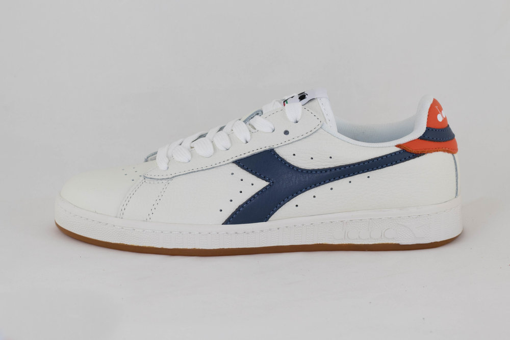 DIADORA DIADORA GAME LOW White/ Dark Denim/ Golden P