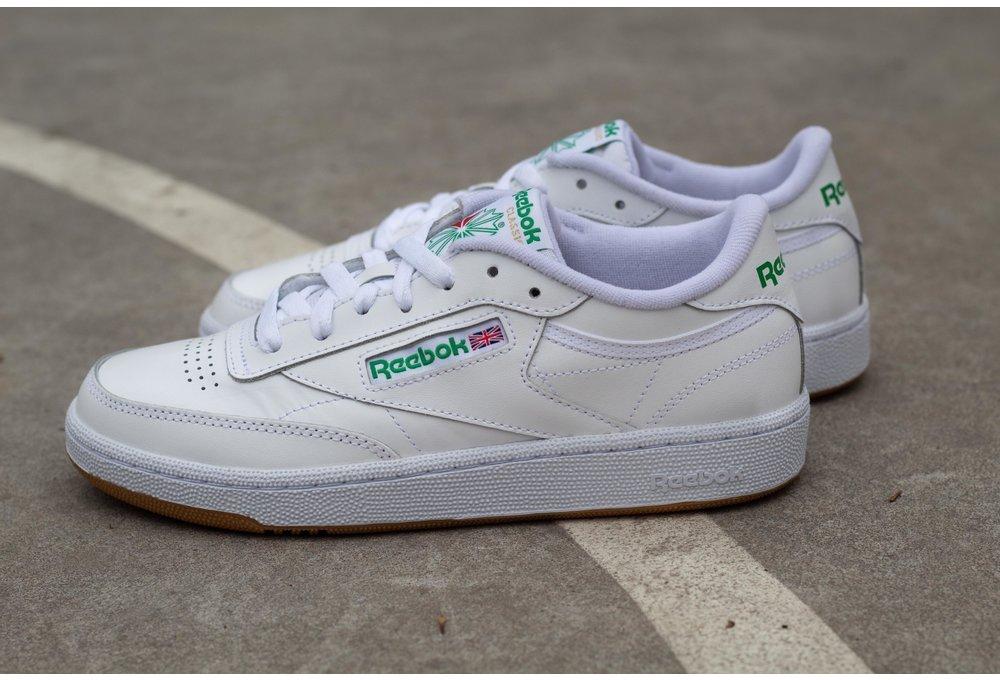 REEBOK CLUB C 85 White/ Green/ Gum