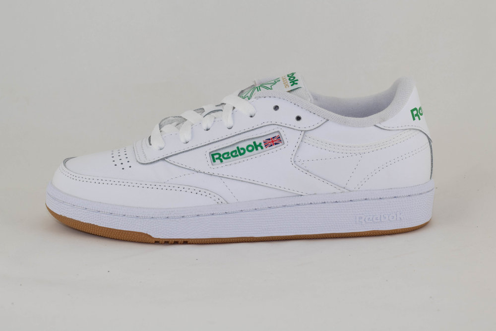 REEBOK REEBOK CLUB C 85 White/ Green/ Gum