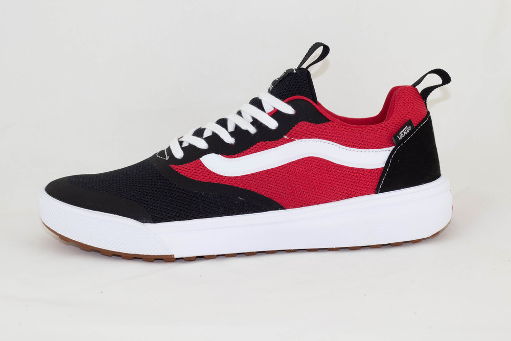 VANS VANS UA ULTRARANGE  Rapidweld (TWO TONE) Black/Red