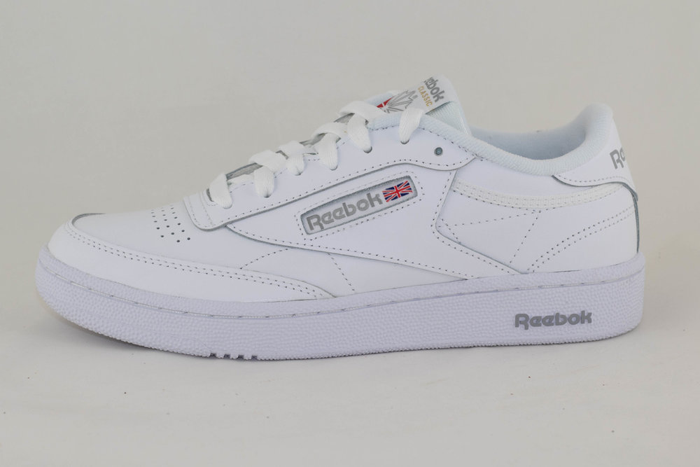 REEBOK REEBOK CLUB C 85 White/ Sheer Grey