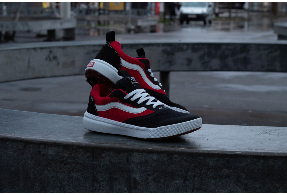 VANS ULTRARANGE  Rapidweld (TWO TONE) Black/Red