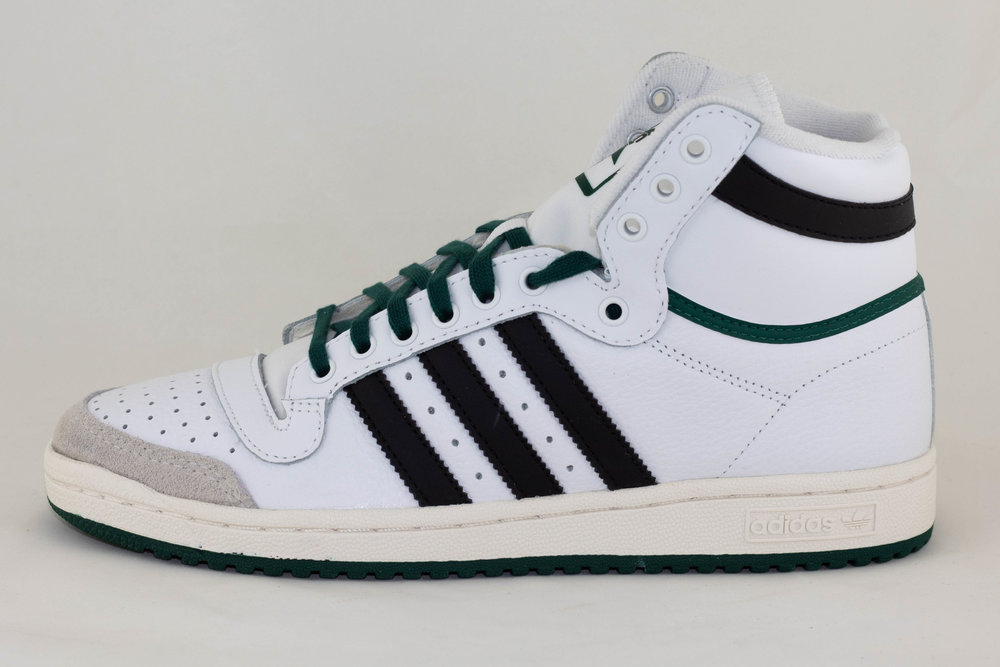 ADIDAS ADIDAS TOP TEN Ftwwht/ Cblack/ Green