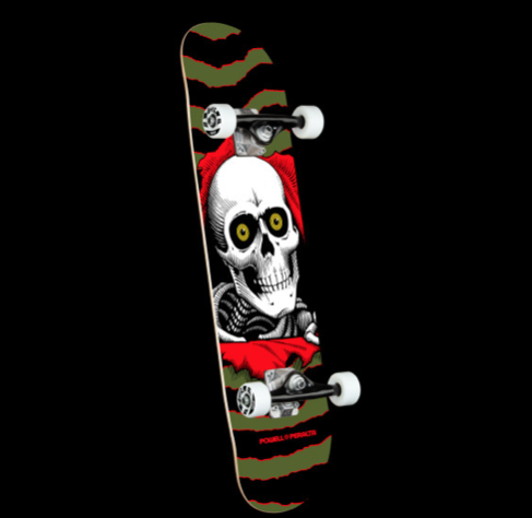 POWELL PERALTA  COMPLETE RIPPER ONE OFF BIRCH 7.0 239 k16 Olive