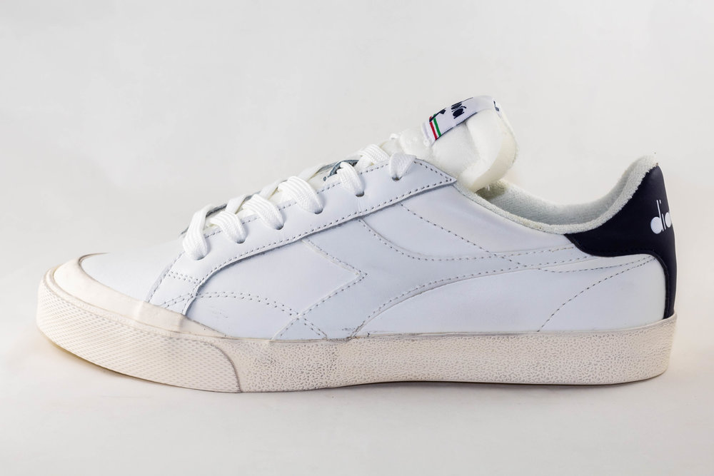 DIADORA DIADORA MELODY LEATHER DIRTY White/ Corsair