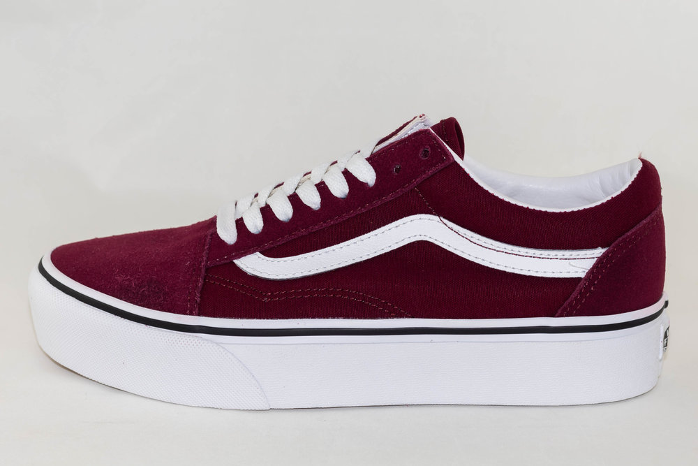 VANS VANS OLD SKOOL PLATFORM Port Royale/ True white