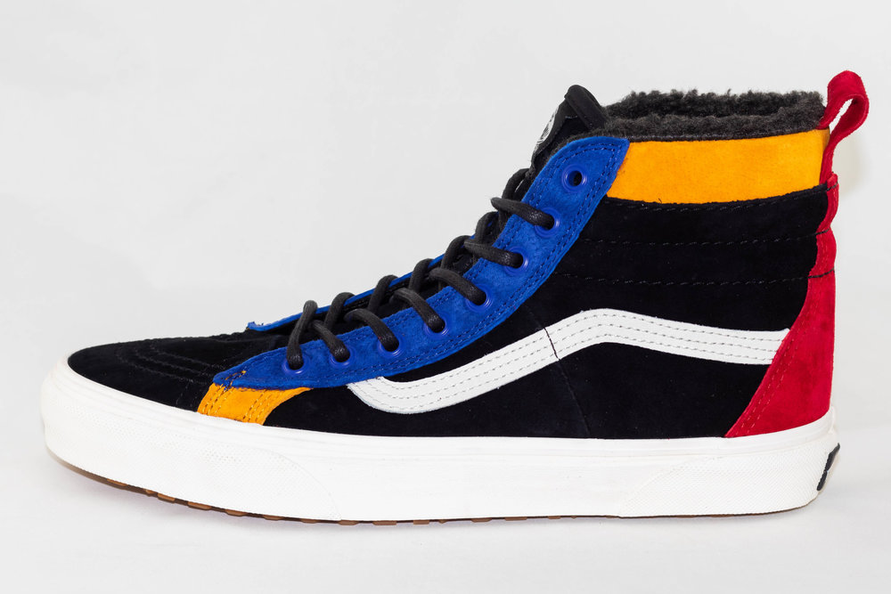 VANS VANS SK8-HI MTE Black/ Surf The Web