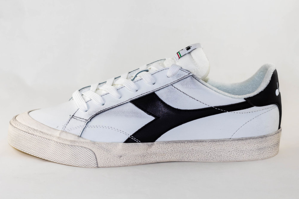 DIADORA DIADORA MELODY LEATHER DIRTY White/ Black