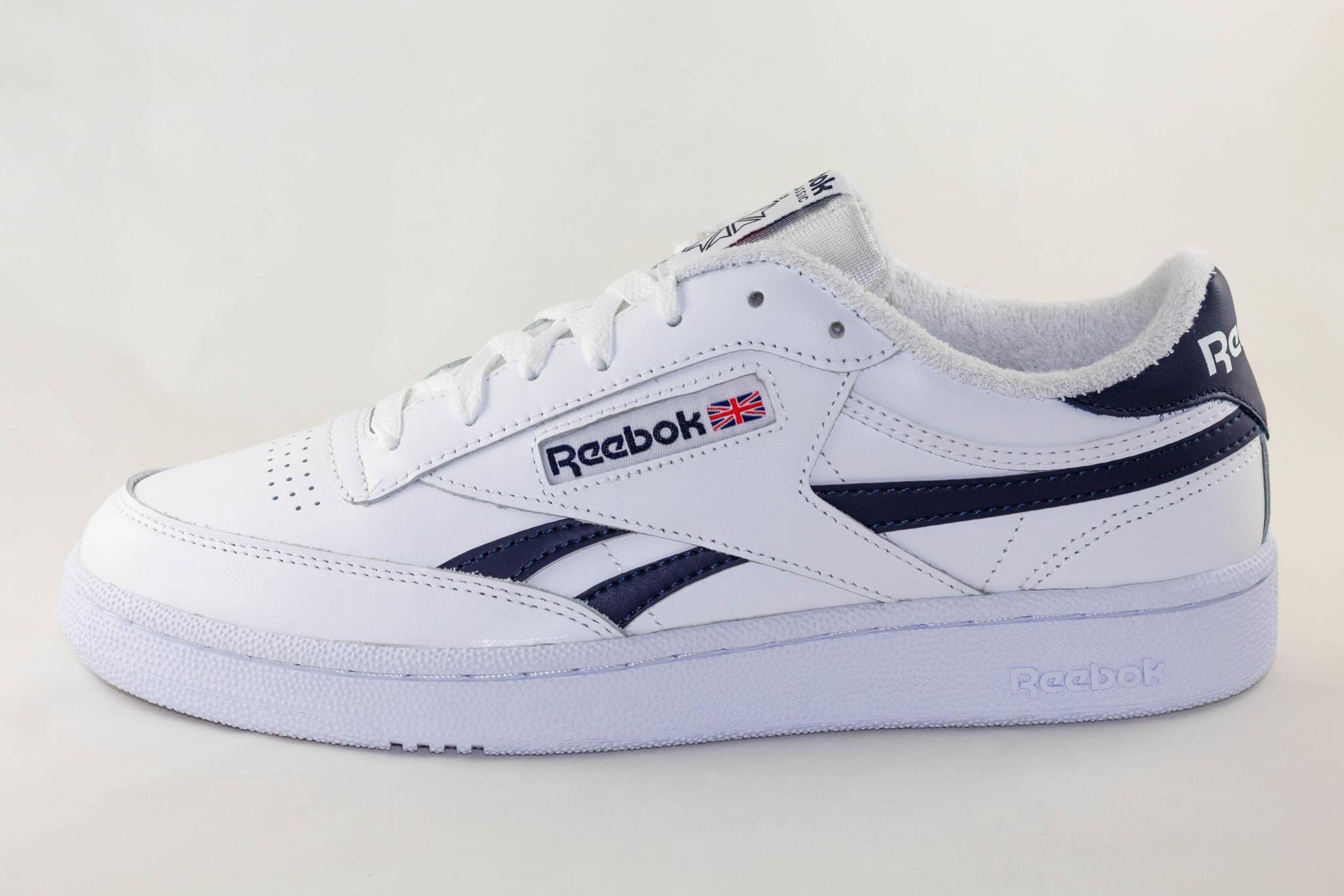 REEBOK CLUB C REVENGE MU White/ Conavy/ Excred