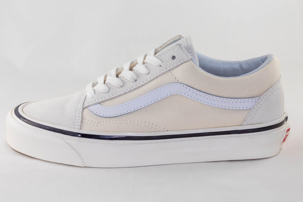 VANS VANS OLD SKOOL 36 DX (Anaheim Factory) Classic White