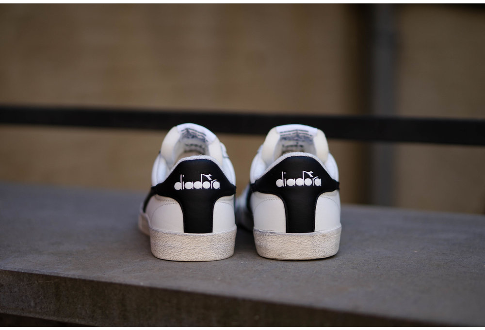 DIADORA MELODY LEATHER DIRTY White/ Black