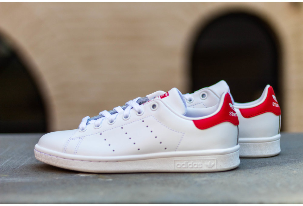 ADIDAS STAN SMITH Runwht/ Runwht/ Colred