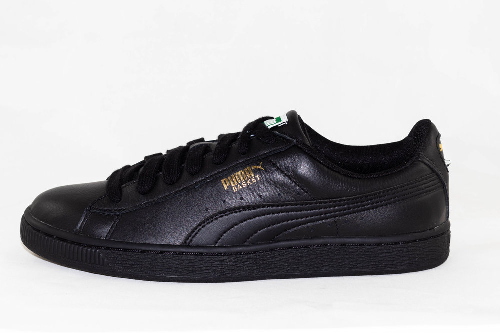 PUMA PUMA BASKET CLASSIC LFS Black-Team Gold