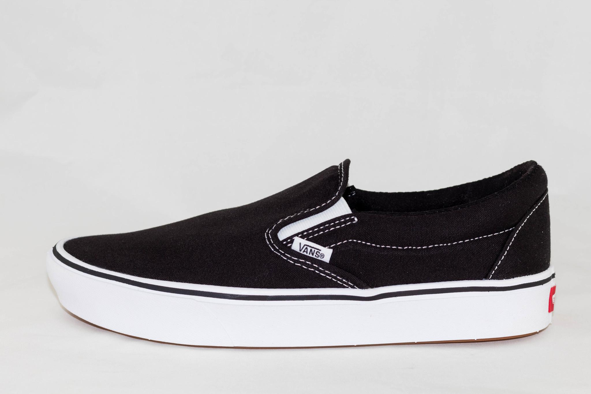 VANS  SLIP-ON COMFYCUSH Black/White