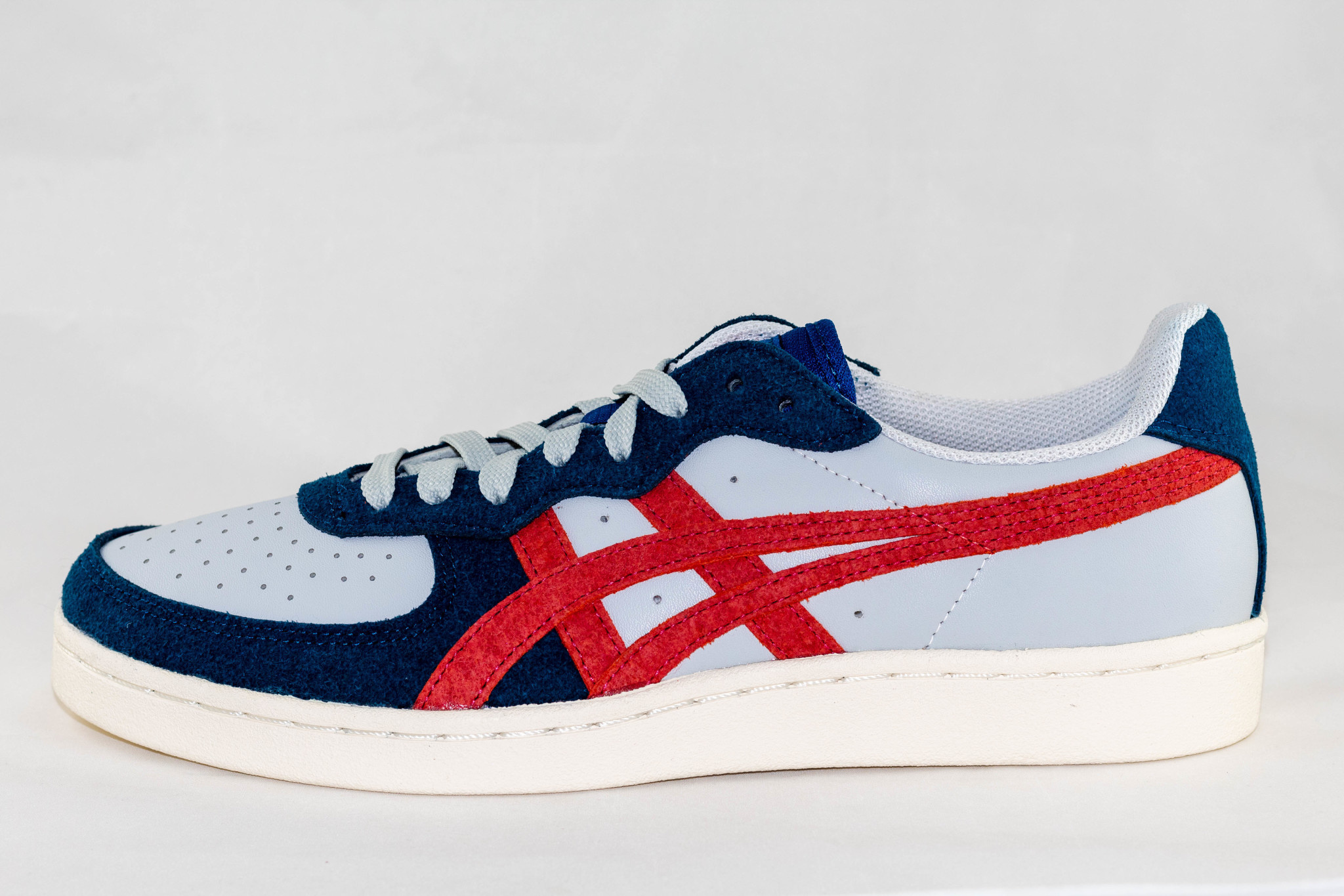 ASICS GSM Polar Shade/ Classic Red