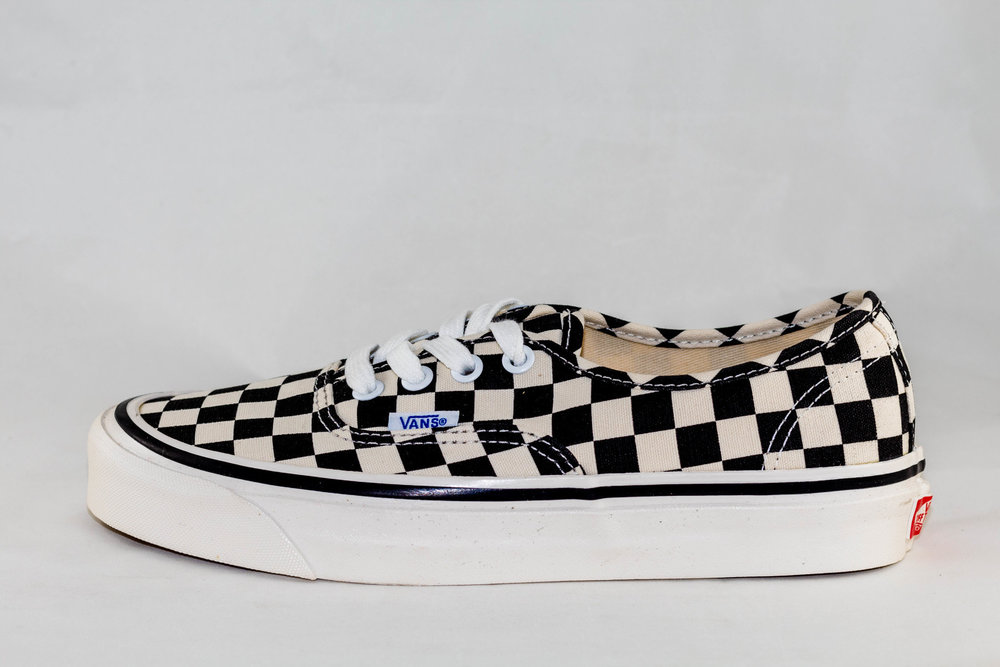 VANS VANS AUHTENTIC 44 DX (Anaheim factory) Black/Checkerboard