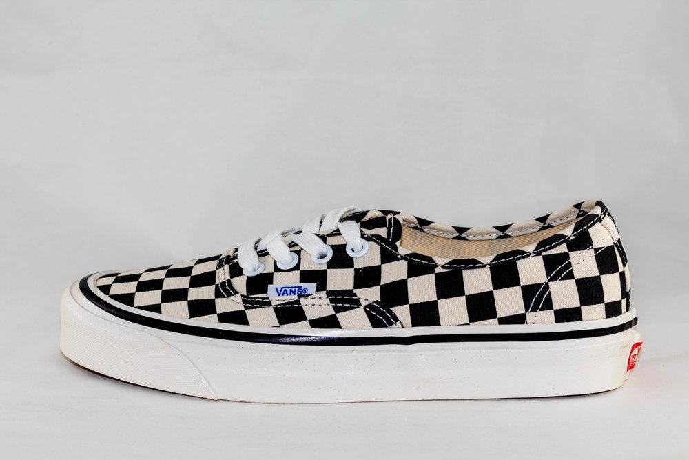 VANS VANS AUTHENTIC 44 DX (Anaheim factory) Black/Checkerboard