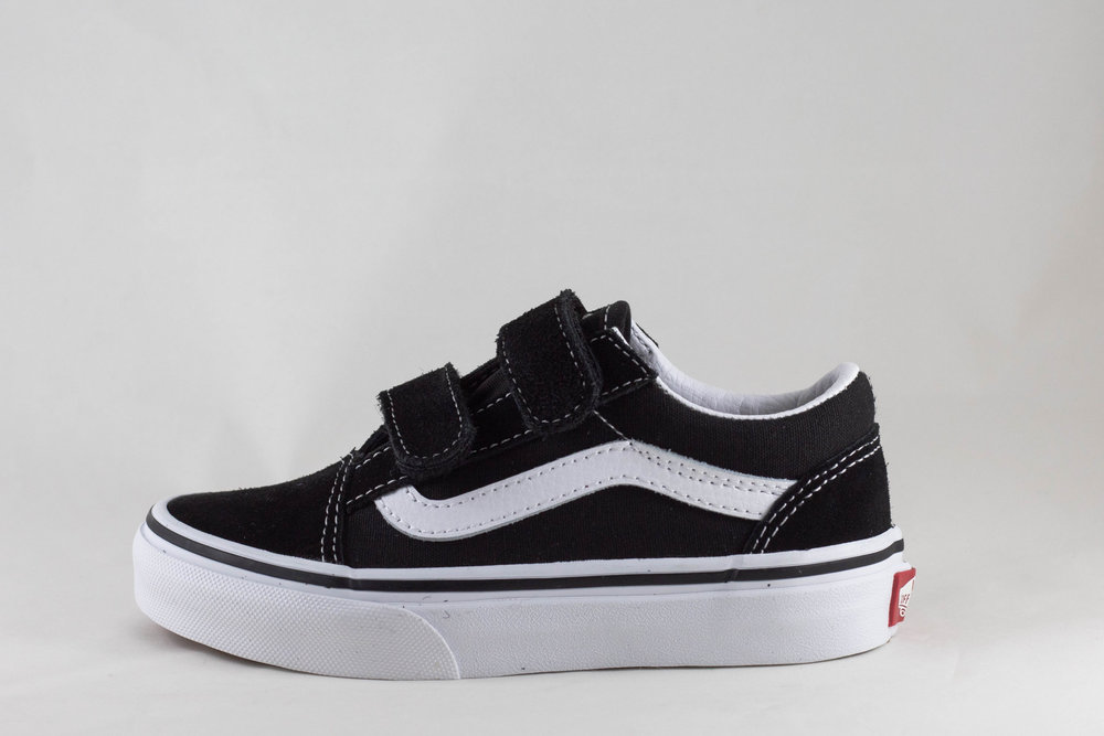 VANS Y VANS OLD SKOOL V Black/ True White