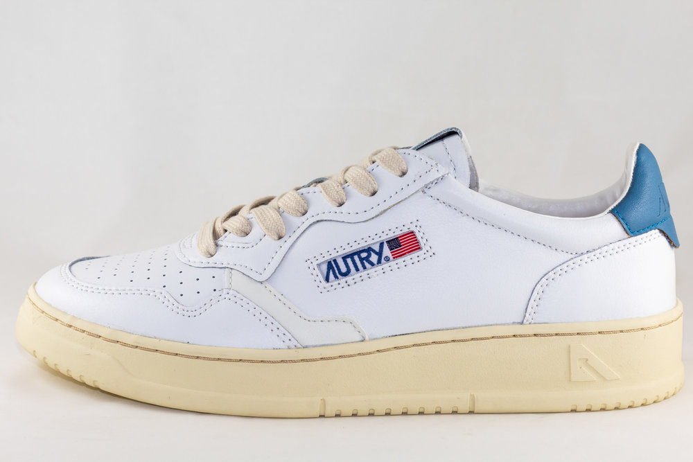 AUTRY AUTRY 01 LOW MAN ALL LEAT White/ Navy