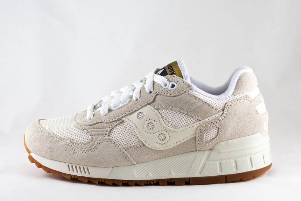 SAUCONY SAUCONY SHADOW 5000 Tan/ White