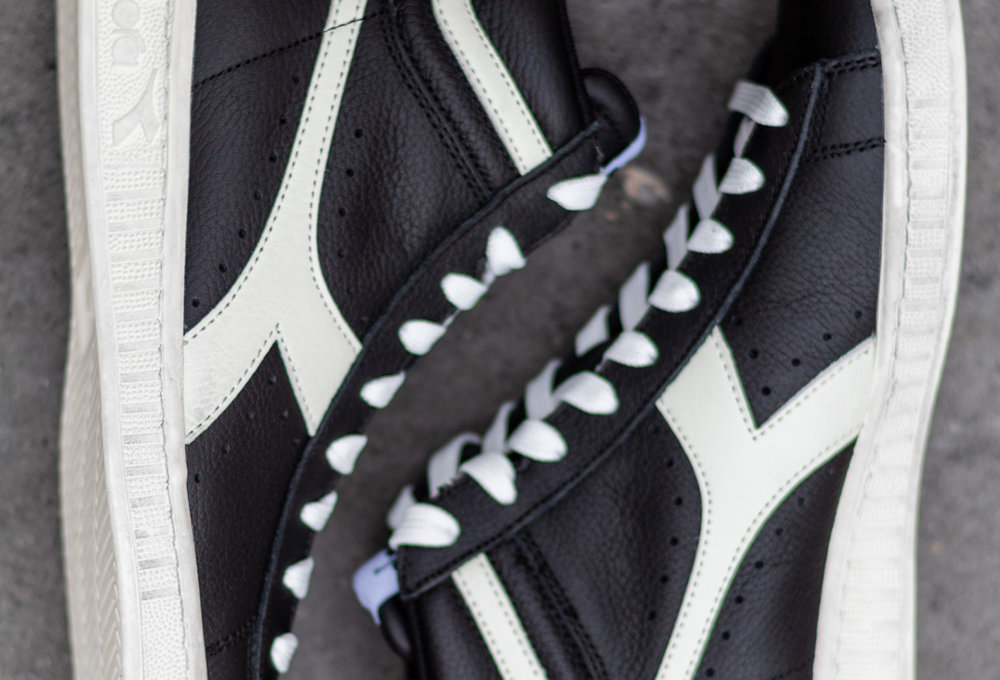 DIADORA GAME HIGH Black/ Cloud dancer