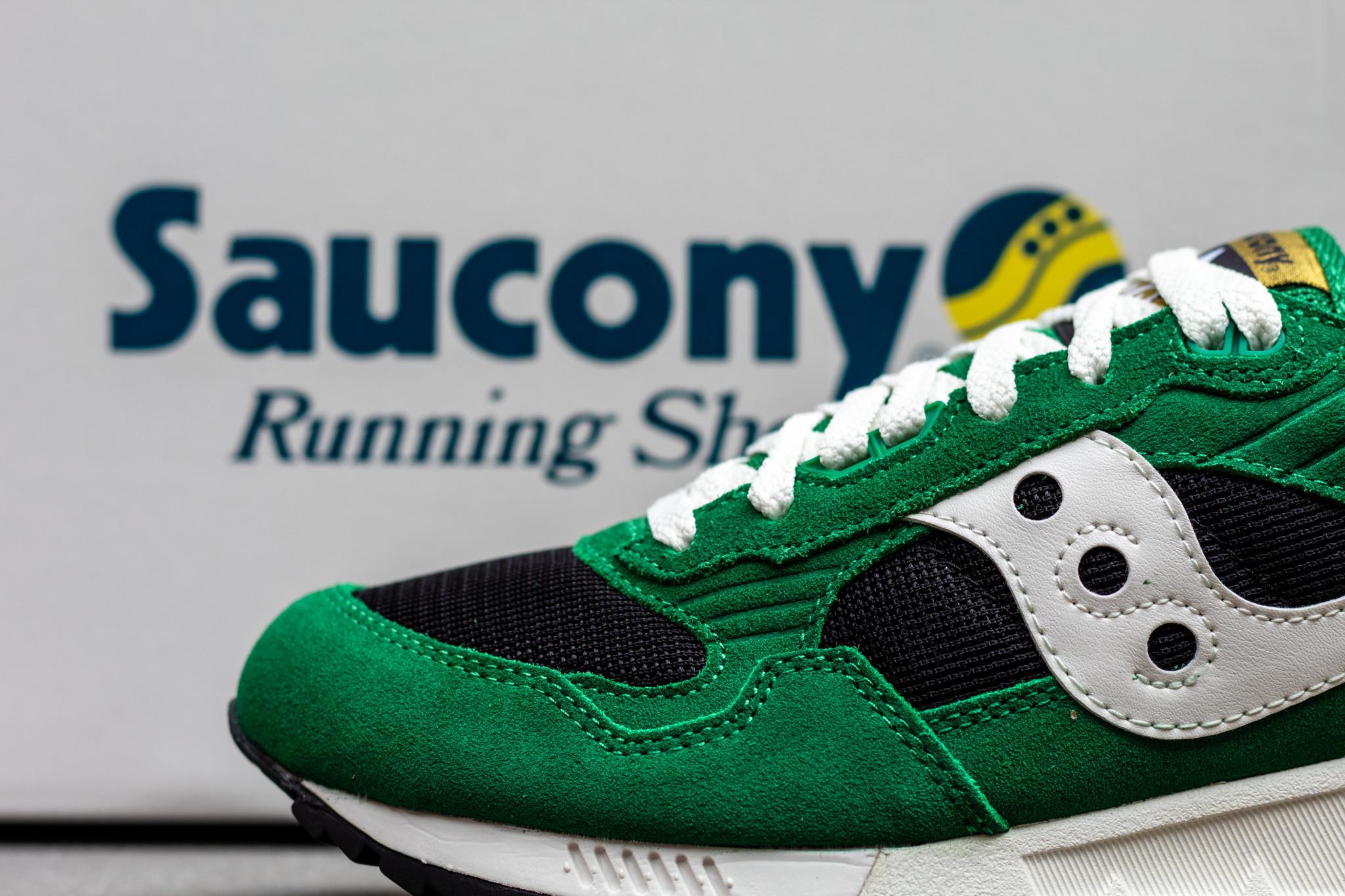 SAUCONY  SHADOW 5000 Amazon/ Limo/ Vert/ Noir