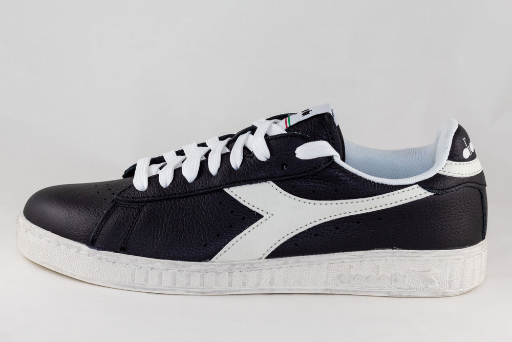 DIADORA DIADORA GAME L LOW WAXED Black/ White