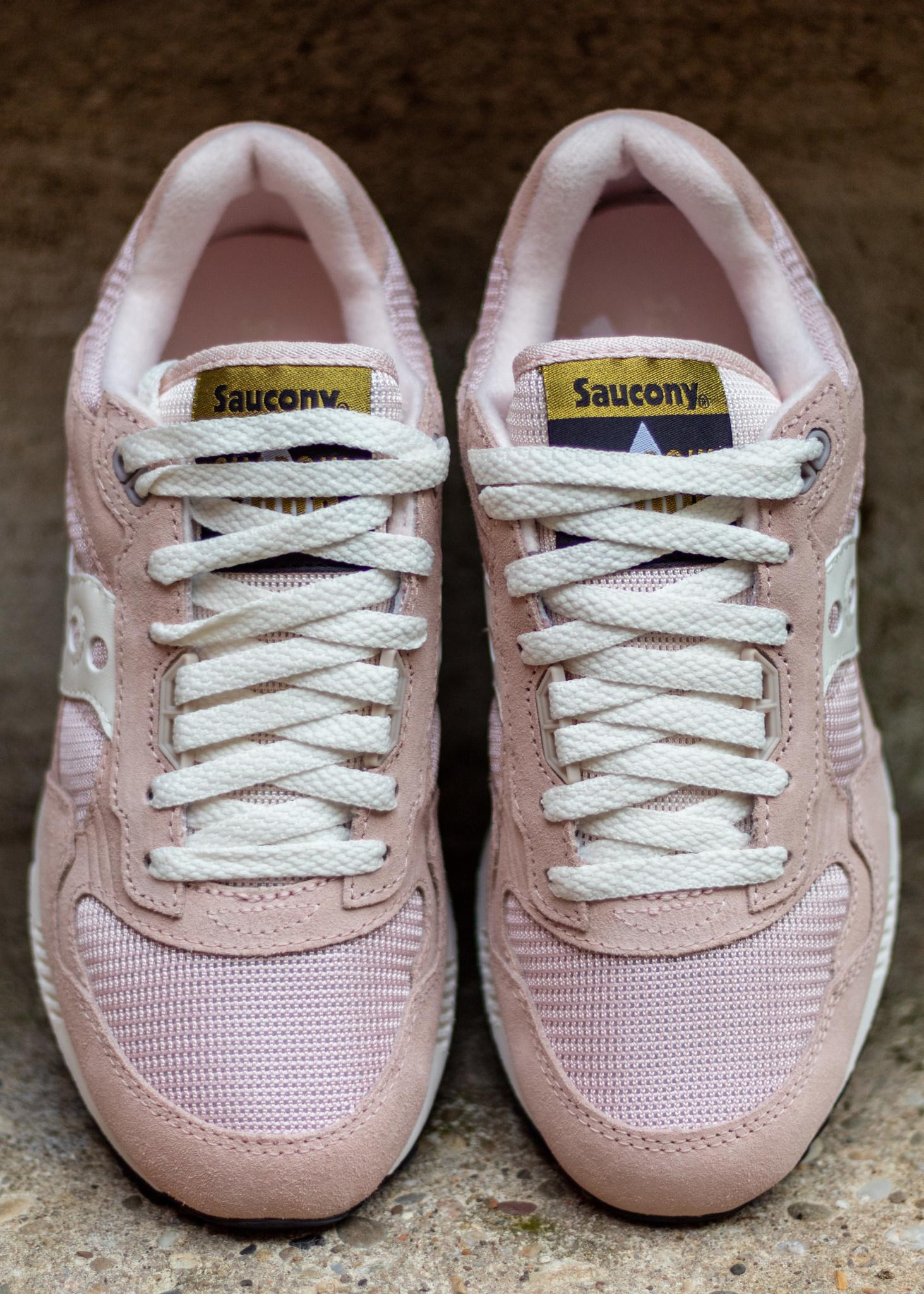 SAUCONY SHADOW 5000  Cream/Rose