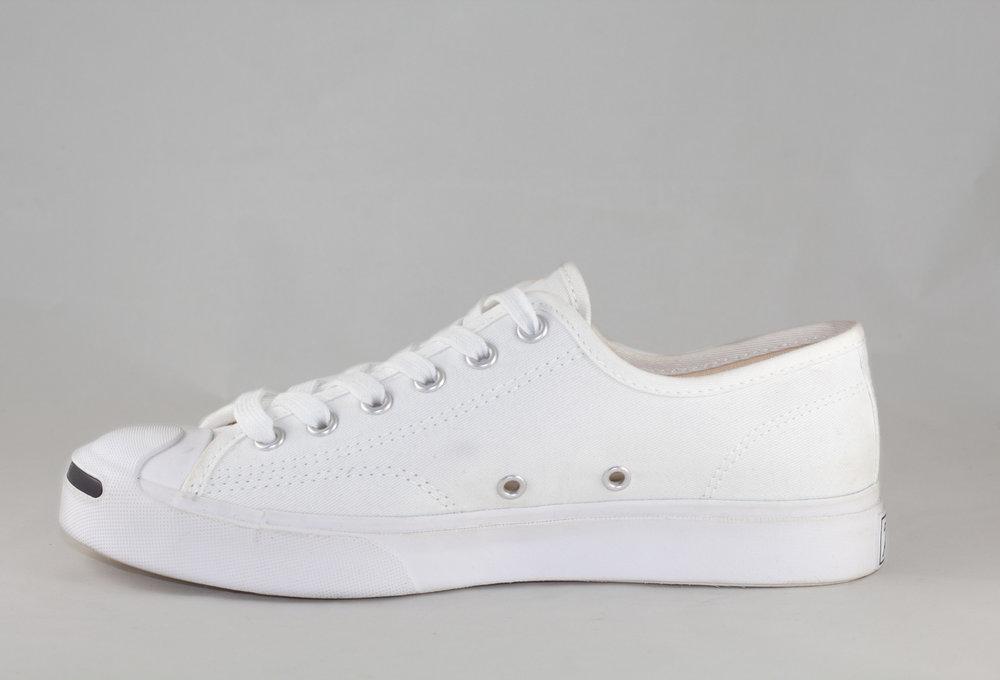 CONVERSE JACK PURCELL OX White/ White/ White/ White/ Black
