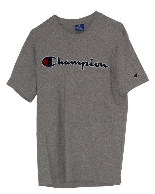 CHAMPION CHAMPION CREWNECK T-SHIRT Grey