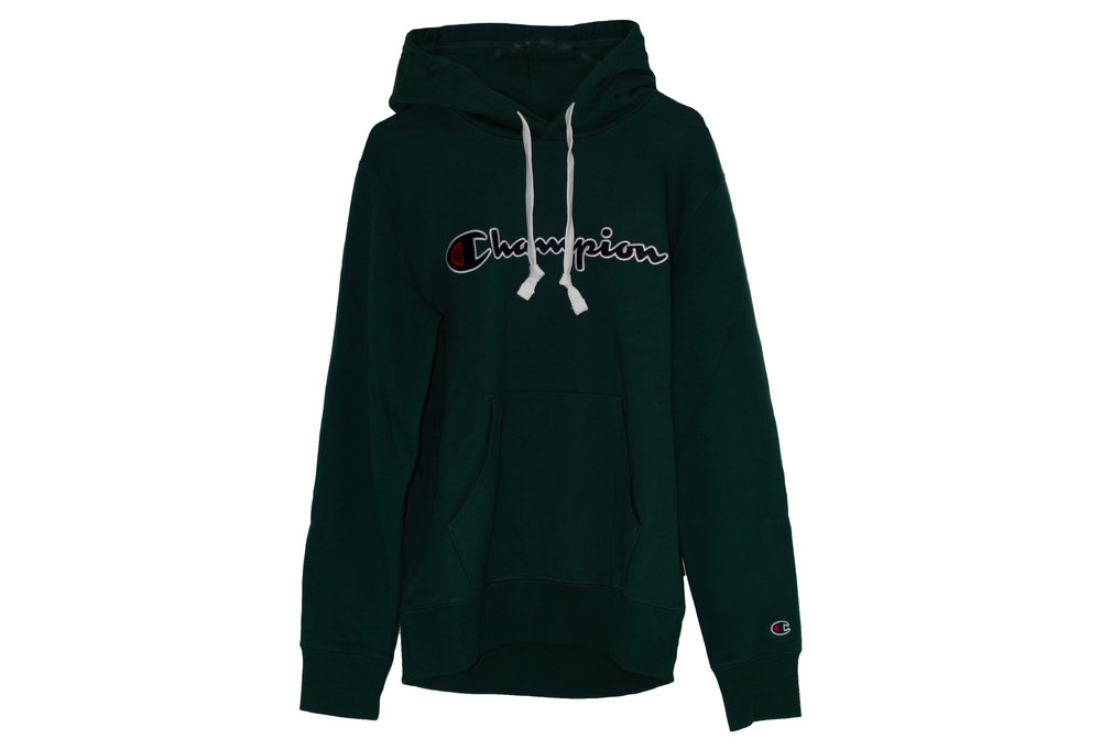 CHAMPION CHAMPION HOODED SWEATSHIRT Dark Green