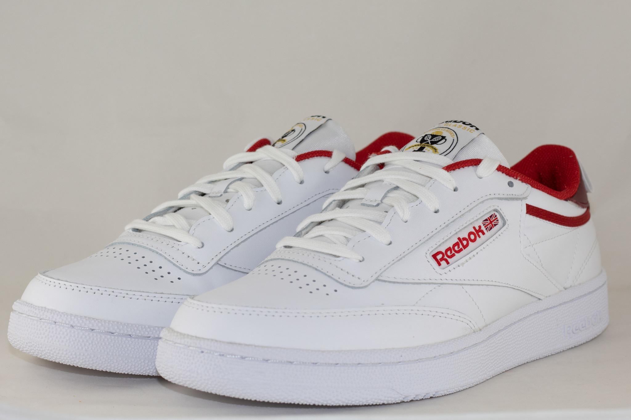 REEBOK M REEBOK CLUB C 85 Legacr/ Merlot/ White